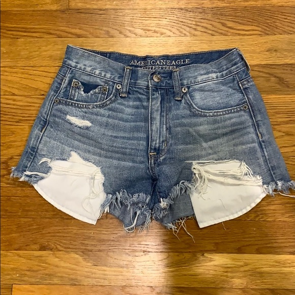 American Eagle Outfitters Pants - Ripped Jean Shorts